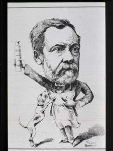Pasteur Cartoon Rabies Vaccine