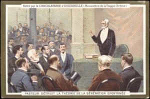 Chocolate Wrapper - Pasteur Disproves Spontaneous Generation
