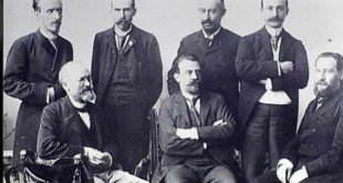 Louis Pasteur and Colleagues at the Institute of Paris