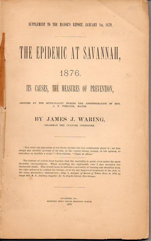 The Epidemic Of Savannah Pasteur Brewing