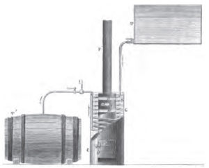 Apparatus for Pasteurizing Wine