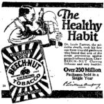 Healthy Habit Tobacco product with image of Louis Pasteur