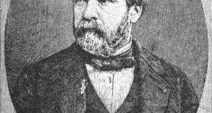 Louis Pasteur Portrait - published in The Druggist in 1884