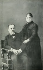 Louis Pasteur and his wife Marie Pasteur