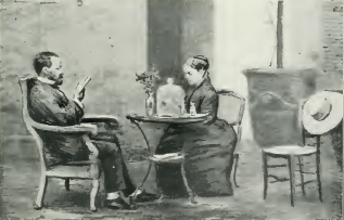 Louis and Madame Pasteur