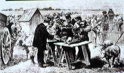 Louis Pasteur Vaccinating Sheep