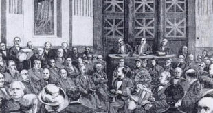 Louis Pasteur's inaugural lecture at the Acadmey of Sciences