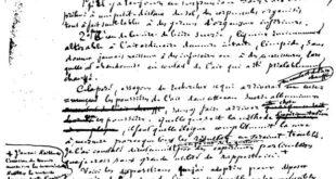 Pasteur manuscript on spontaneous generation
