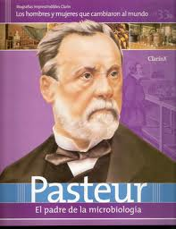 Louis Pasteur: Spanish Magazine Cover