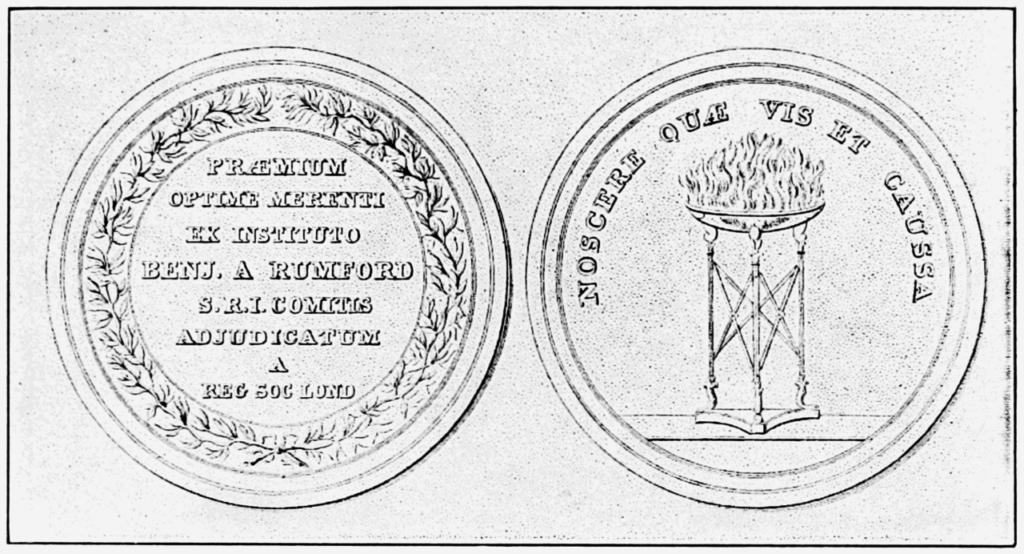 Rumford Medal - Louis Pasteur