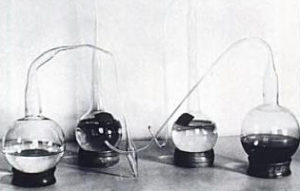 Swan Necked Flasks from Pasteur's Laboratory